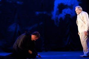 Hamlet,Thiago Lacerda e Antonio Petrin 3