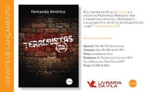 Livro Terroristas S/A, convite