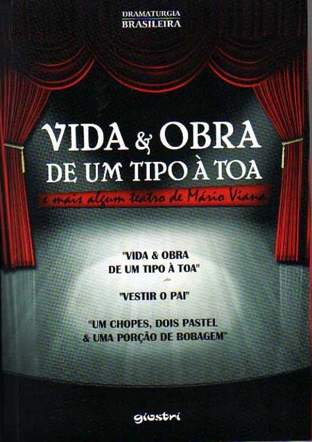 Livro com peças de Mario Viana