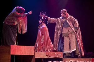 Peça: Crônicas de Cavaleiros e Dragões – O Tesouro dos Nibelungos, foto 2