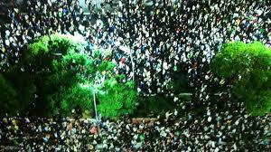 Protesto de rua, foto 2
