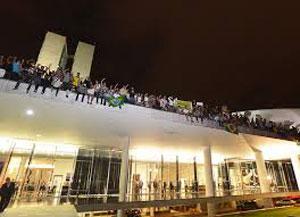 Protesto de rua, foto 3