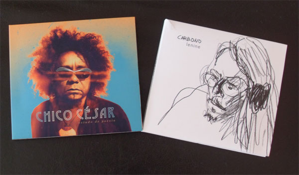 CDs: Chico César, Lenine e Carlos Rennó, foto 1